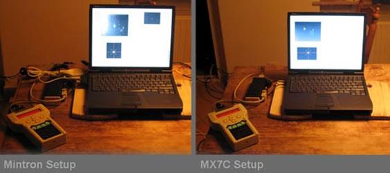 AG Vergleich Mintron Setup MX7C SetupSm