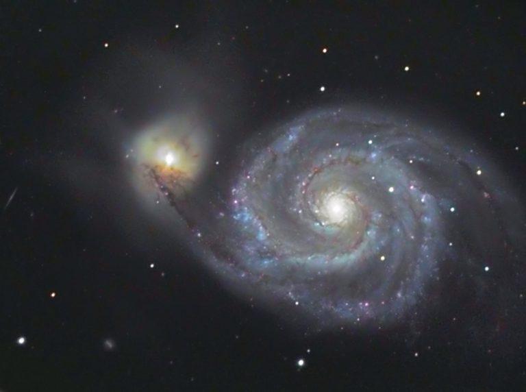 M 51 Whirlpool - Galaxy Arp 85 Canes Venatici