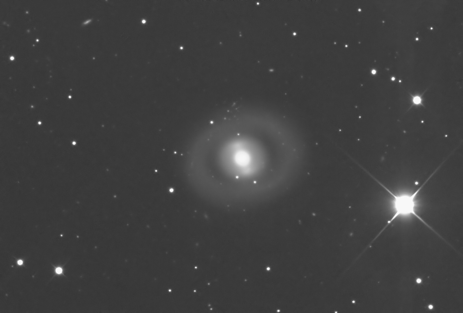NGC 2859 | A Ring Galaxy | Leo Minor