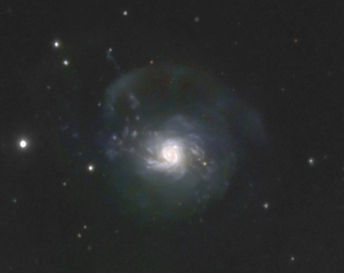 NGC 3310 | Arp 217 | Bow and Arrow Galaxy | Ursa Major