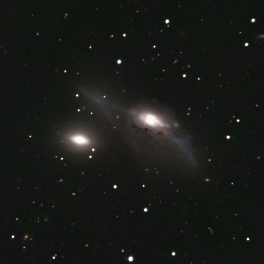 NGC 4435 | NGC 4438 | Arp 120 | The Eyes Virgo