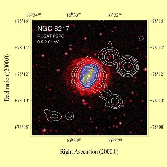 NGC 6217 | Arp 185 | Ursa Major | Röntgenjet