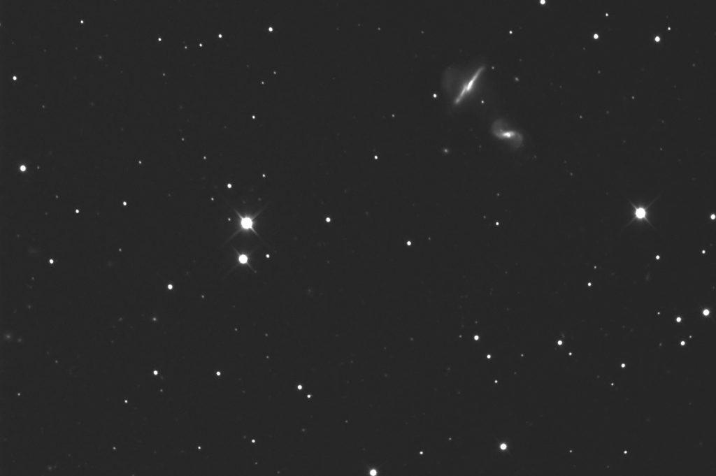 NGC 6285   Arp 293   Draco