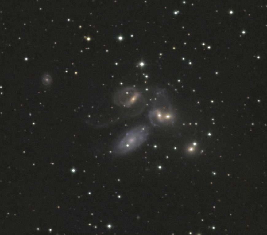 NGC 7318 | Stephans Quintett | Pegasus