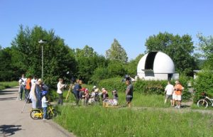Sternwarte Aalen Venusdurchgang 2004
