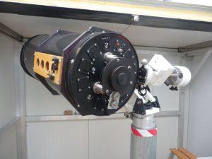 IAU Observatory C87 Alurahmen