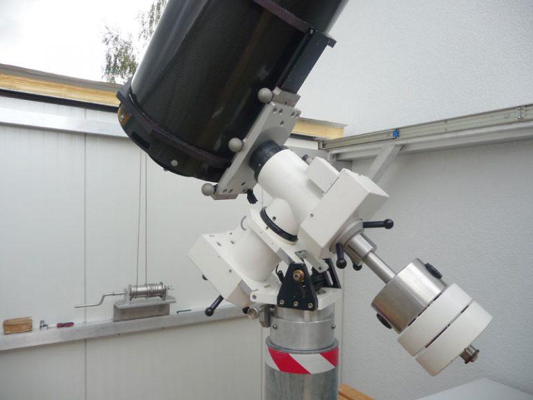 IAU Observatory C87 Montierung
