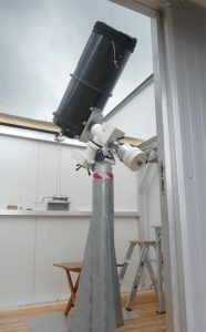 IAU Observatory C87 Saeule