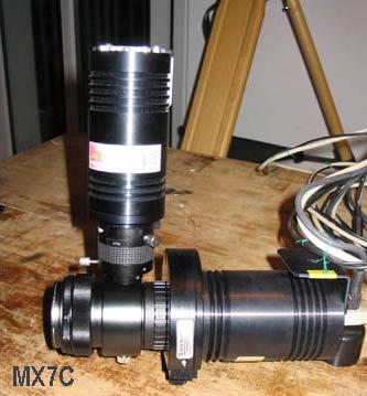 WATEC Vergleich MC716